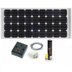 Kit Painel Solar 140W Monocristalino